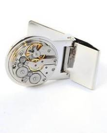 5503c9f9e99 Splice Cufflinks Watch Movement Money Clip