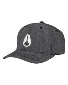 Nixon - Deep Down Athletic Textured Hat - Dark Gray (C2270486) eb8afd90fde