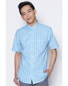 Dockers Soft No Wrinkle Short Sleeve Shirt Gulf Stream