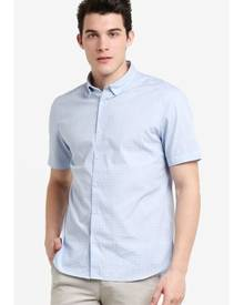 G2000 Check Printed Short Sleeve Shirt