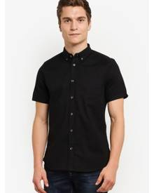 Burton Menswear London Short Sleeve Oxford Shirt