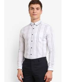 G2000 Checked on Heather Long Sleeve Shirt