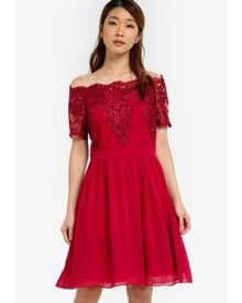 6268aaa99b3dba Dorothy Perkins Women s Off Shoulder Dresses