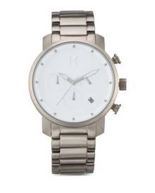 09b4aacca15 MVMT Chrono 40 Watch - White Titanium