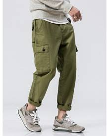 HK-ehunter Casual Regular Fit Jogger Pants