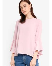 Zalia Bell Sleeve Blouse