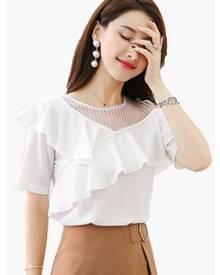 95e16a601415ab Women's Off Shoulder T-Shirts at ZALORA | Stylicy