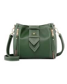 Lara Women's Green Color Crossbody Bag