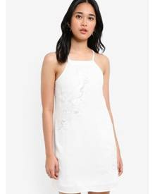 0d393fe49721 Something Borrowed Embroidered Cut-In Cami Dress