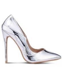 a0b87201035 Tia Mixed Material Stiletto Heels