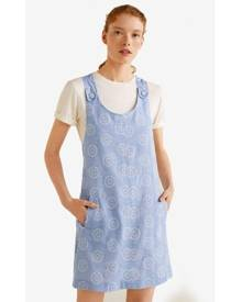 a3bc3e1eeb5 Blue Women s Pinafore Dresses - Clothing
