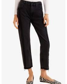 3d0c7116486f9 ZALORA. Mango Straight-Fit Dark Jeans