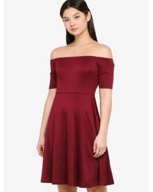 2c7712a5b71c Something Borrowed Off Shoulder Midi Dress