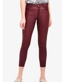 4b977a3db7837 ZALORA. Mango Skinny Coated Jeans