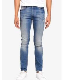a60f851912e1b ZALORA. MANGO Man Slim-Fit Dark Vintage Wash Tim Jeans
