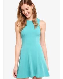 ZALORA BASICS Textured Swing Dress