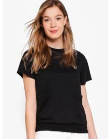ZALORA BASICS Basic Raglan Sweatshirt Top