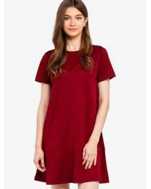 Something Borrowed Panelled Hem Swing Dress