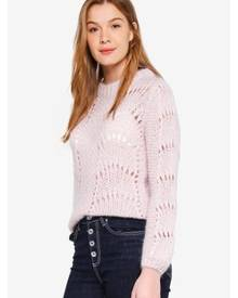 Guess Rita Cut Out Sweater Top