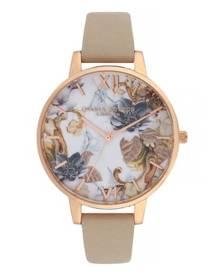 ec527114ccb Olivia Burton Marble Florals SAND 38mm Women s Watch