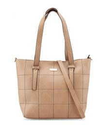 Unisa Quilted Convertible Large Work Tote