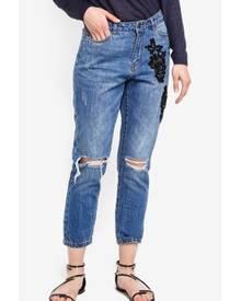 Detaillierung riesige Auswahl an authentisch Tonni Boyfriend Decorated Jeans