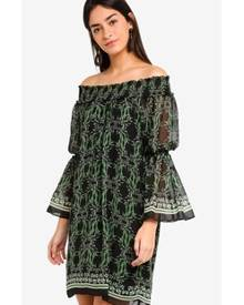 c351e67dff2 ZALORA. Max Studio Woven Off The Shoulder Dress