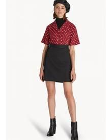 Pomelo Side Webbing Belt Skirt - Black a82f28b68