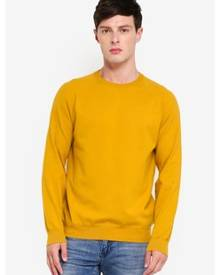 French Connection Stretch Cotton Crew Sweater