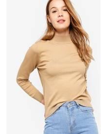 ZALORA BASICS Basic High Neck Sweater