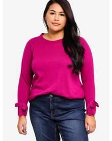 Junarose Plus Size Lika O-neck Knit Pullover