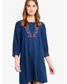 6c7e72ff7905e ZALORA. ESPRIT Light Woven Mini Dress