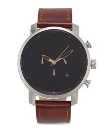 7891248baa4 MVMT Chrono 45 - Silver Natural Tan Watch