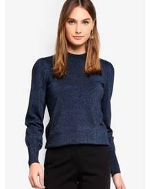 Y.A.S Media Lurex Knit Pullover