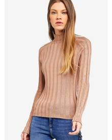 River Island Knit Ribbed High Neck Top