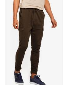 4c6054d406 Green Men's Cargo Pants - Clothing | Stylicy Singapore