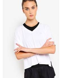 Running Bare Cropped Workout Tee