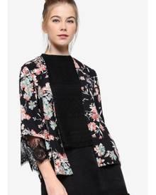 Something Borrowed Lace Insert Kimono