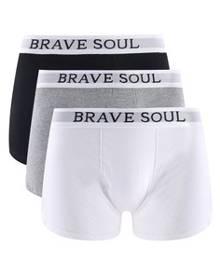 Brave Soul Men's Logo Boxers Pack