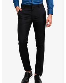 G2000 Poly Textured Stripe Formal Ultra Slim Pants
