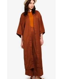 Zalia Midi Kimono Cardigan