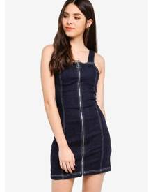 e4a9ffb524ea Topshop Women's Pinafore Dresses - Clothing | Stylicy