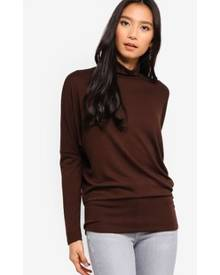 River Island Roll Neck Batwing Sleeve Top