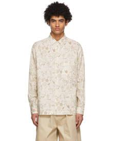 Jacquemus Beige La Chemise Baou Shirt