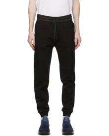 Z Zegna Black Cotton Cargo Pants