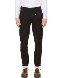 Belstaff Black Trialmaster Cargo Pants