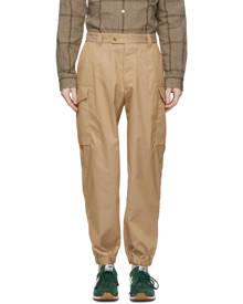 tss Khaki Herringbone Cargo Pants