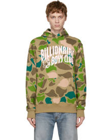 Billionaire Boys Club Beige Camo Arch Logo Hoodie
