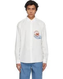 Jacquemus White Cherries La Chemise Henri Shirt