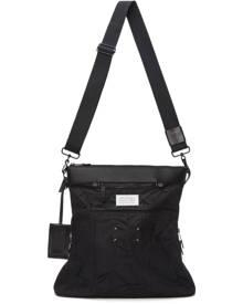 Maison Margiela Black Nylon Messenger Bag